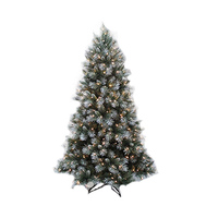 Carrefour Christmas Tree Frost Tips With 248 LED N 20 200CM