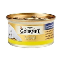 Gourmet Gold Mousse Kip With Chicken 85GR