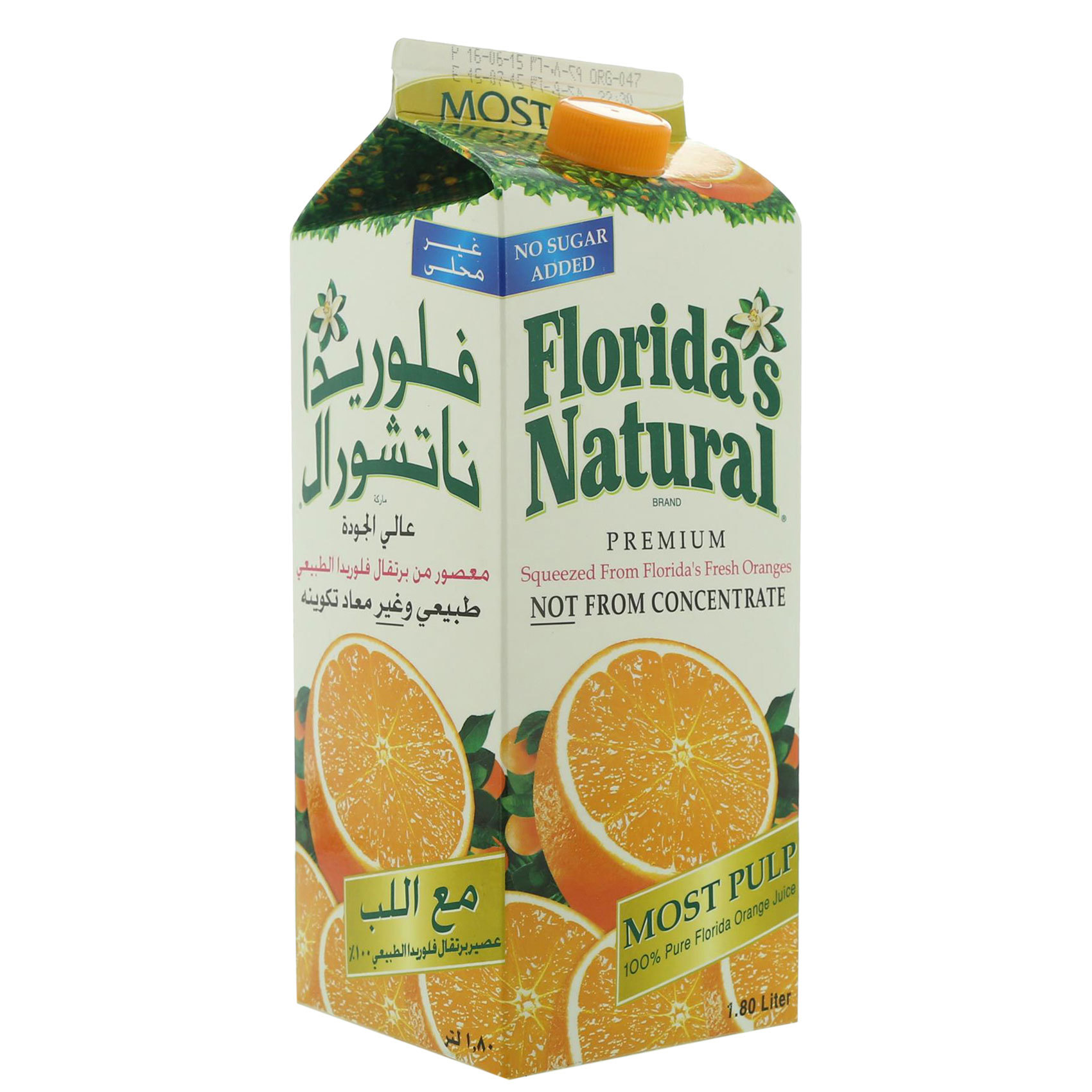 FLORIDA JUICE ORANGE 1.8L