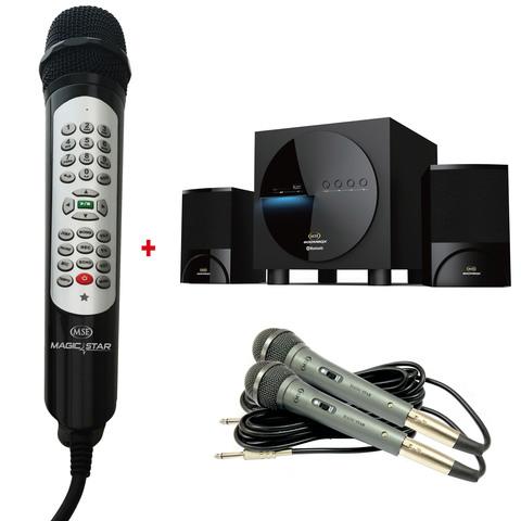 MSE-MS805-Karaoke-+-2-LH210-+-B118