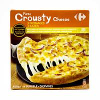 Carrefour crousty cheese pizza 450 g