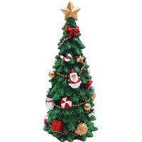 Christmas Polyresin Tree 15Cm