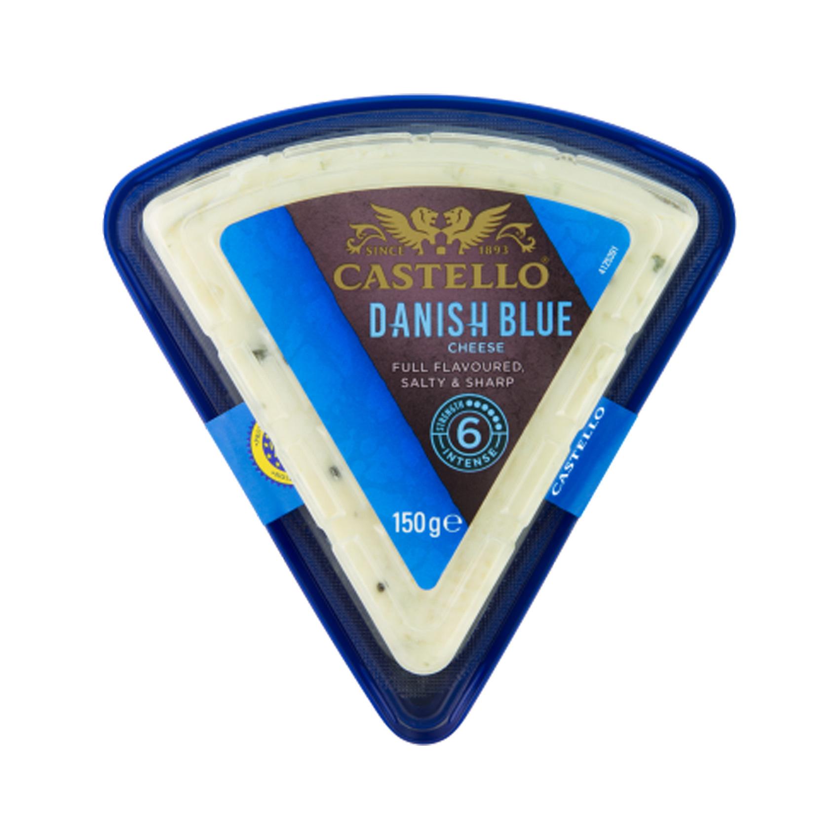 ROSENBORG BLUE CHEESE COW MILK 100G