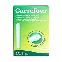 Carrefour Tampons Easy Insertion 20 Pieces