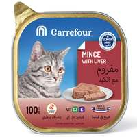 Carrefour Senoir Cat Mince with Liver 100g