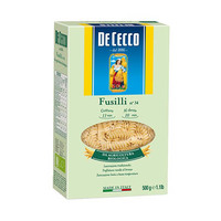 De Cecco Fusili Bio Organic 500GR