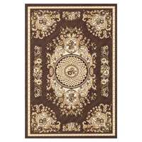 Carpet Super Sabah 380X570Cm Brown Bia