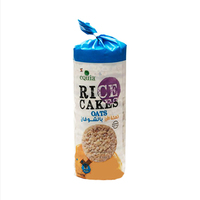 Equia Rice Cakes Oats Brown 18 Pieces
