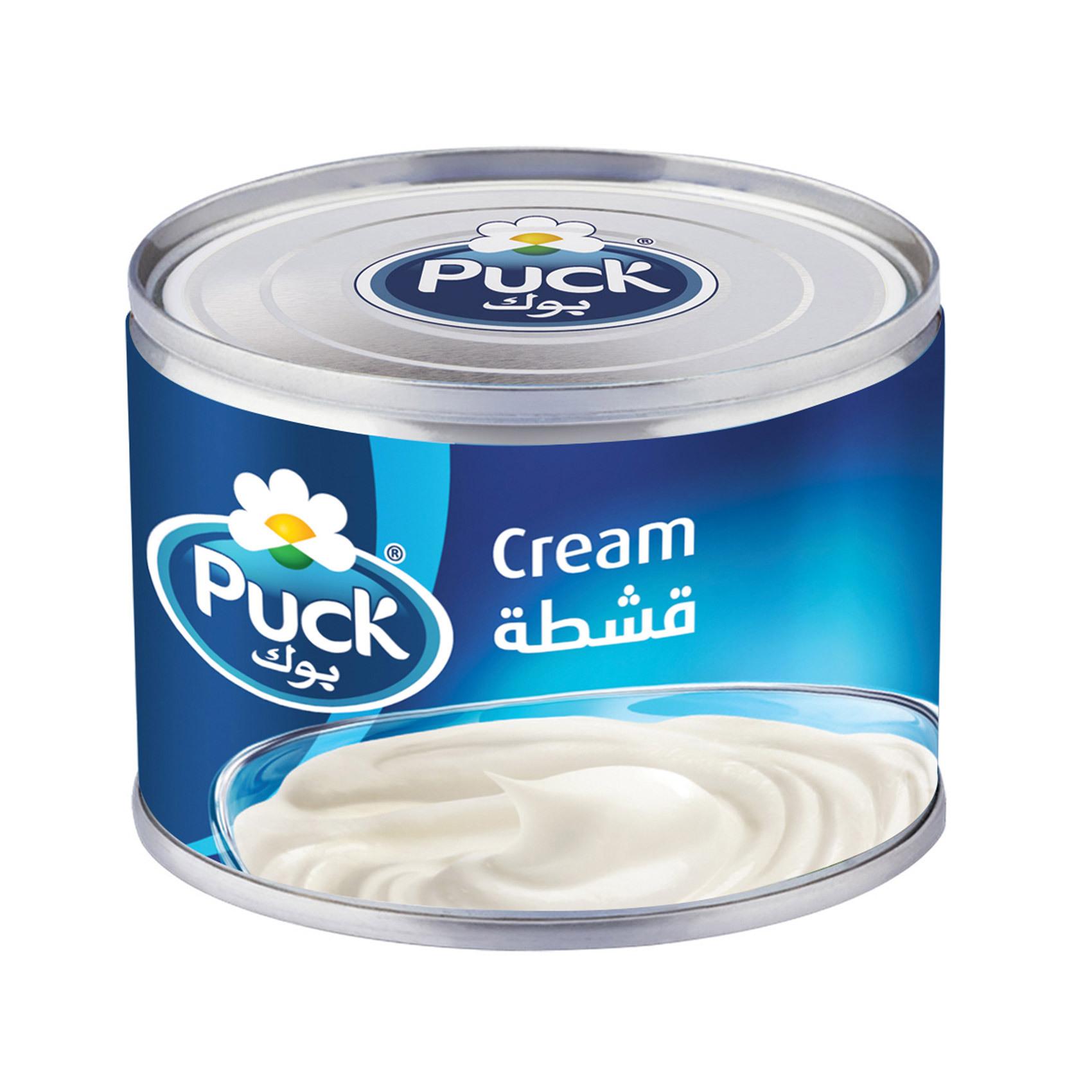 Puck Cream Plain 170g x6
