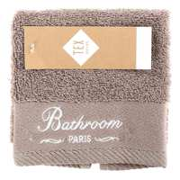 TEX Face Towel 30x30 Taupe
