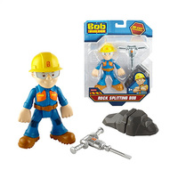 Bob The Builder Character Rock Splitting Bob 3 Years+ Assorted