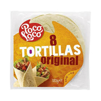Poco Loco TortillaS 8 Flour 320GR