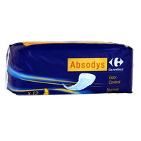 Carrefour Normal Incontinence Sanitary Towel X12