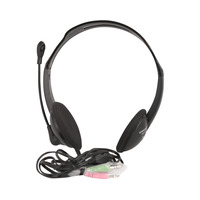CROWNMICRO Headset Wired CMH-100 Black