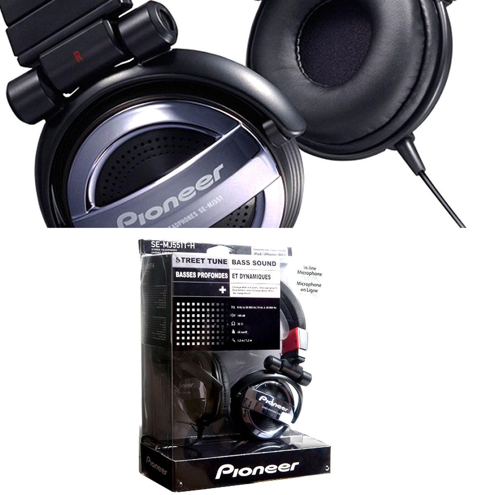 PIONEER HEADPH SE-MJ151-K BK