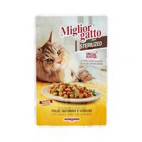 Miglior Gatto Pouch Sterilised 85GR