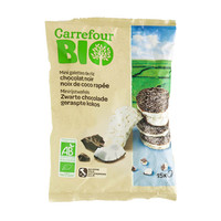 Carrefour Bio Organic Mini Rice Pancakes Dark Chocolate 60g