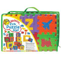Power Joy Puzzle Mat Alphabet & Vehicle Assorted