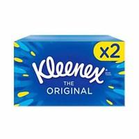 Kleenex Orginal Regular Tissues Twin Pack 72 Sheets