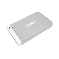 Transcend Storejet For Mac Portable External Hard Drive SJM100 2TB White