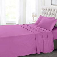 Tendance's Fitted Sheet Double Rose Pink 137X193