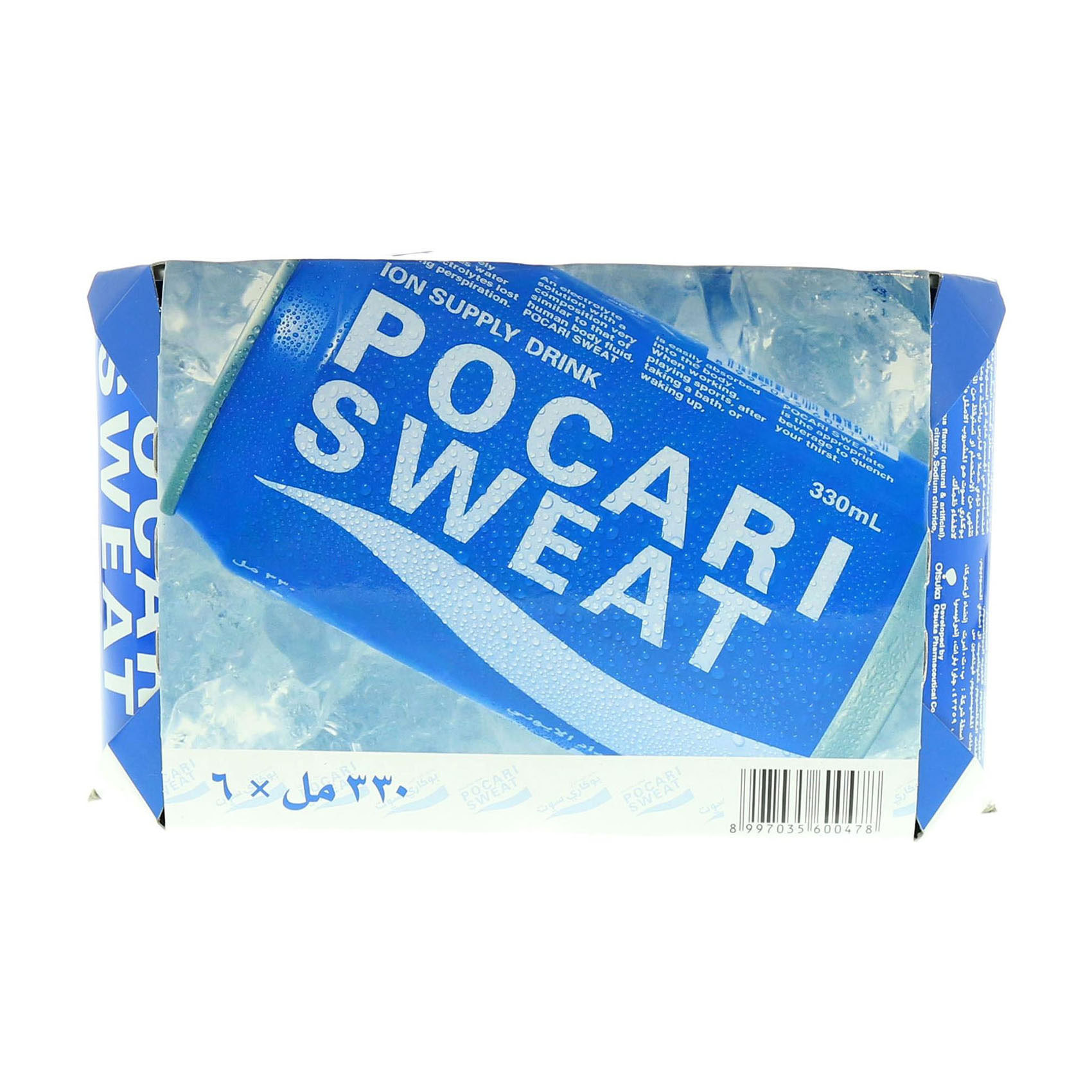 POCARI SWEAT DRINK 330MLX6