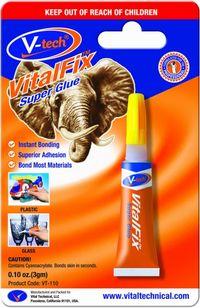 V-Tech Vitalfix Super Glue Single 9110 3 Gram