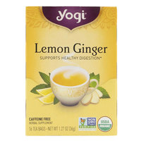 Yogi Lemon Ginger Tea 36g