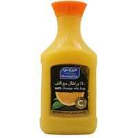 Almarai Co. 100% Orange With Pulp Juice 1.5L