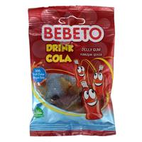 Bebeto Cola Drink Jelly Gum Candy 40g