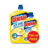 Der General Floor Cleaner Multi Purpose Lemon 3L +750F