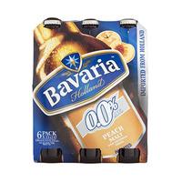 Bavaria Non-Alcoholic Beer Bottle Peach 33CL X6
