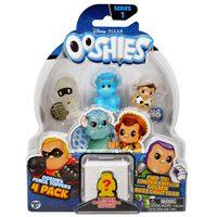 Ooshies Pixar 4 Pack - Assorted