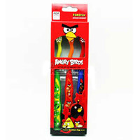 Angry Birds ToothBrushes Pack of 3's