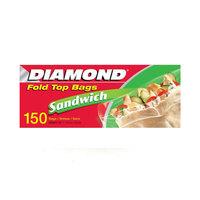 دايموند أكياس ساندويش طوي 150 قدم*12 كيس