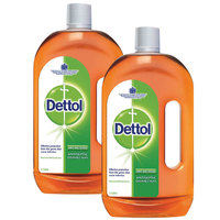 Dettol Anti Bacterial Antiseptic Disinfectant 1L X2