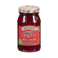 Smuckers Simply Fruit Red Raspberry 10OZ