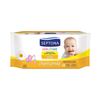 Septona Baby Wet Wipes Chamomile 64 Sheets