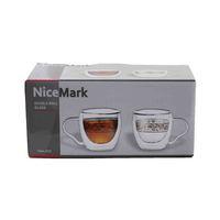 نايس مارك كوب قهوة 90 مل طقم من قطعتين