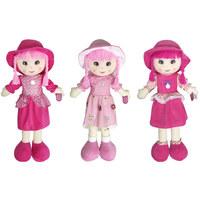 Doll Rag With Melody 85 cm