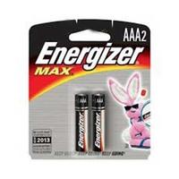 Energizer Max 2013 Type AAA Alkaline Battery X2