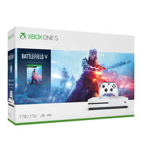 Microsoft Xbox One S Console 1TB +Battlefield V DLC Code