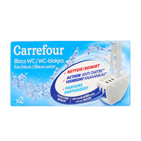 Carrefour Wc Block Blue 40g x2