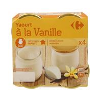 Carrefour Jar Vanilla Yoghurt 125gx4