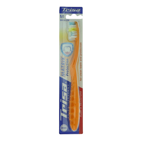 Trisa-Matrix-Protection-Medium-Toothbrush