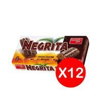 بسكويت بالشوكولاتة من نجريتا - 26 جم عبوة من 12