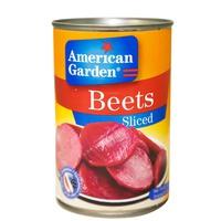 American Garden Beets Sliced 425g