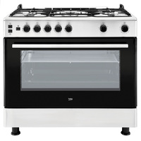 Beko 50X50 Cm Gas Cooker GG15115 DX 4Burners