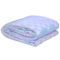 3D Super Soft Flannel Blanket King Blue