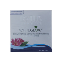 Lotus Herbals White Glow Skin Whitening & Brightening Nourishing Night Crème 60g